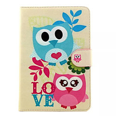 Cute owl Pattern Hard Case for  iPad mini 3, iPad mini 2, iPad mini