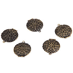 Colgantes Metal Circle Shape Cobrizo 1