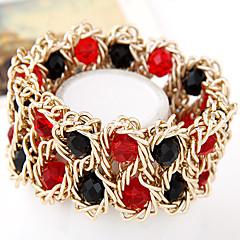 European Style Fashion Metal Braided Temperament Wild Exaggeration Bracelet
