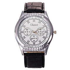 Men's Fashion Watch Scale Atmospheric Classic Fashion PU Leather Belt Quartz Watch Cool Watch Unique Watch