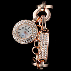Ladies' Fashion Sparkle Alloy Quartz Bracelet Watch Cool Watches Unique Watches