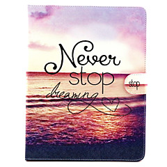 Never Stop Dreaming  Pattern Full Body Cover for iPad 2/3/4