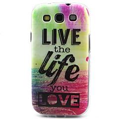 livsmönster TPU material mjuk ringer fallet för Samsung Galaxy S3 s4 s5 s6 s6 kant s5mini