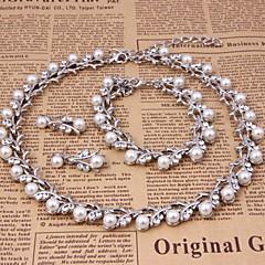 Classic Jewelry Set (necklace) (earrings) (Bracelet)