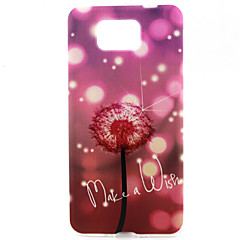 Shiny Dandelion  Pattern Relief TPU Soft Back Cover for Galaxy G850F/G360/G357/G355H/G3500/G5308