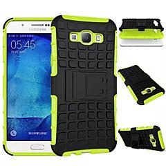 Varten Samsung Galaxy kotelo Iskunkestävä / Tuella Etui Takakuori Etui Panssari PC Samsung A8 / A7 / A5 / A3