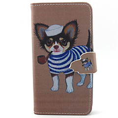 Fashion Dog Pattern PU Leather Phone Case For G355/G357/G360/G386F/G850F/G3500/G5308
