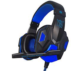pc780 de plextone casque filaire (bandeau) avec microphone / contrôle du volume / jeu / Formedia antibruit