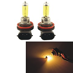 2kpl carking ™ kobo h8 / h 11 550lm 3000K keltainen valo auton halogeeni ajovalojen (dc 12v)