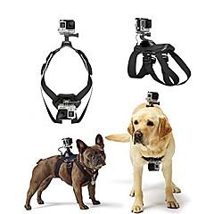 Köpek 4 3+ 3 2 kamera, yükseltilmiş sürümü koşum göğüs kemeri kemeri gopro kahraman mount getir