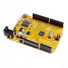 Uno R3 tablero del desarrollo del microcontrolador mejorado ATmega328P para Arduino