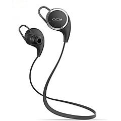 qcy qy8 mini trådløse stereo sport kører bluetooth høretelefoner hovedtelefoner headset (hvid&sort)