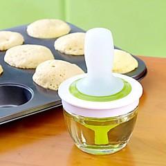 titular de aceite de cocina, vidrio y silicio ambiental