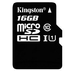 Kingston 16 GB clasa micro SDHC 10 sdql ultra TF carte
