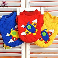 Rojo/Azul/Amarillo - Boda/Cosplay - Algodón - Abrigos/Camiseta - Perros/Gatos -