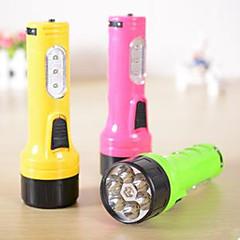 LED - Camping/Vandring/Grotte Udforskning/Dagligdags Brug/Jagt - LED Lommelygter ( Genopladelig ) 1 Tilstand 12 Lumens LED DC