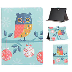 Owl Pattern PU Leather Full Body Case with Stand Slot for T530/T550/T800