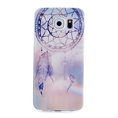 Campanula Pattern Thin Transparent TPU Material Phone Case for Samsung Galaxy S6 /S5 /S4 /S3 /S4Mini /S5Mini