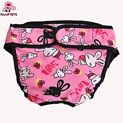 Gatos / Perros Pantalones Rojo / Negro / Azul / Rosado Ropa para Perro Primavera/Otoño camuflaje / Caricaturas Boda / Cosplay