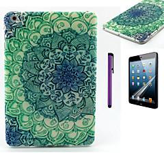 alruna mönster TPU mjuk baksida täcker fallet för iPad mini 3 / iPad mini 2 / iPad mini