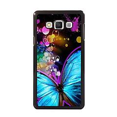 Para Samsung Galaxy Capinhas Estampada Capinha Capa Traseira Capinha Borboleta PC Samsung A8 / A7 / A5 / A3