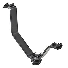 v-în formă de SLR suport suport pantof fierbinte suport multifuncțional condus videoclip pantof de lumină microfon bază universal