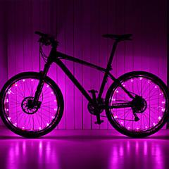 leadbike 20led 2meters aa hjulet lys / LED snakket lys / sikkerhets lys / LED lyspærer / lommelykter