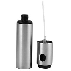Stainless Steel Olive Oil Spraying Bottle Thumb Push Sprayer Oil Pump Can