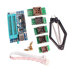 PIC K150 Programmer USB Automatic Programming with PLCC IC Testing Seat Adapter Kit for Develop Microcontroller