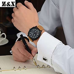 Herrenmode-Peeling-Quarz-analoge Stahlband-Armbanduhr (farbig sortiert)