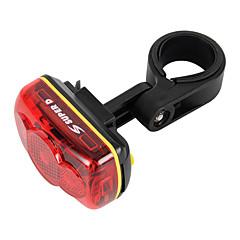Luci bici , Luci di coda / luci di sicurezza / Luci bici - 4.0 Modo 100 Lumens Impermeabile / Resistente agli urti / antiscivolo AAA x2 x