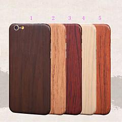 grain de bois protecteur complet du corps autocollant film pour iphone 6 6s / iphone (couleurs assorties)