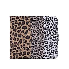 Varten iPhone 6 kotelo / iPhone 6 Plus kotelo Lomapkko / Korttikotelo / Tuella / Flip / Kuvio Etui Kokonaan peittävä Etui Leopardiprintti