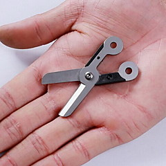 Multitools / Ollók Kemping / Szabadtéri Multi Function gumi / Stainless Steel ezüst