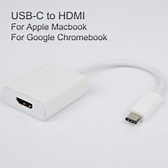 usb3.1 usb-c för att HDMI adapterkabel för Apple den nya MacBook vedio utgång