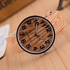 Women's European Fashion Vintage Imitation Wood Grain Wrist watch Cool Watches Unique Watches