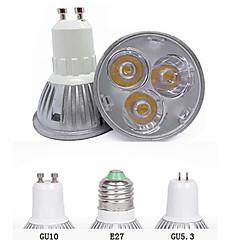 3W GU10 GU5.3(MR16) E26/E27 Spot LED MR16 3 LED Haute Puissance 260 lm Blanc Chaud Blanc Froid Décorative AC 85-265 V 1 pièce