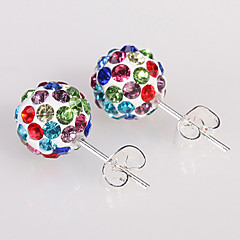 HUALUO®Fashion Shambhala Rhinestone Stud Earrings