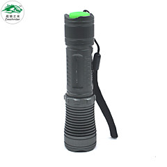 Zweihnder Waterproof 611 320lm 3 Mode Flashlight - Gray