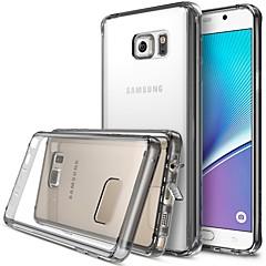 Voor Samsung Galaxy Note Patroon hoesje Achterkantje hoesje Woord / tekst Acryl Samsung Note 5