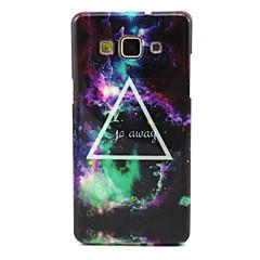 Mert Samsung Galaxy tok Minta Case Hátlap Case Látvány TPU Samsung A5 / A3