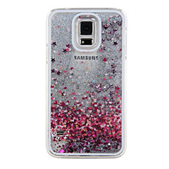 Painted Silver Sand PC Phone Case for Galaxy S5