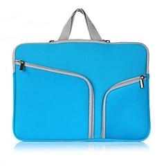 """맥북 및 기타 11.6 """"13.3""""15.4 """"더블 포켓 지퍼 노트북 가방"""