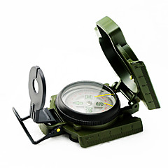9260026 Army Style Survival Marching Metal New Lensatic Compass Military Camping Hiking High Quality