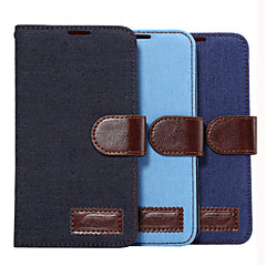 DE JI Cowboy Wallet Card Slot Stand Flip Leather Case for Samsung Galaxy E7/E5/Ace 4/Grand 2/Alpha