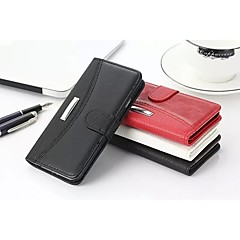 Business Litchi Grain & Crazy Horse Genuine Leather Card Slot and Stand Wallet S5 Cases for Samsung Galaxy S5 I9600
