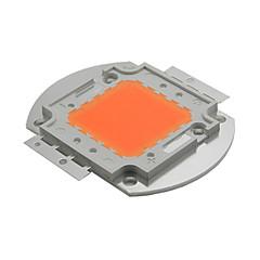 ywxlight® 30w hela spektrumet ledde växa chip 380nm`840nm för hydro diy ledde ljusna