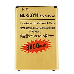 3800 - LG - LG G3 - 교체 용 배터리 - BL-53YH-GD - 아니요 - 전세계