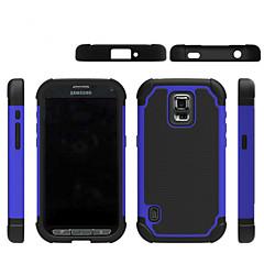 hybridi karu kumi pii + PC iskunkestävä 2 in 1 kovakantinen Kotelot Samsung Galaxy S3 mini / S4 mini / S5 mini / S5 aktiivinen