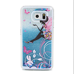 Genius Flow Sand PC Material Cell Phone Case for Samsung Galaxy S6/S6 edge